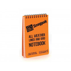 Voděodolný zápisník Bloček ALL WEATHER - oranžový