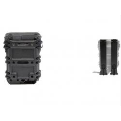 Plastová MOLLE sumka na 5.56 zásobníky M4/M16 - černá