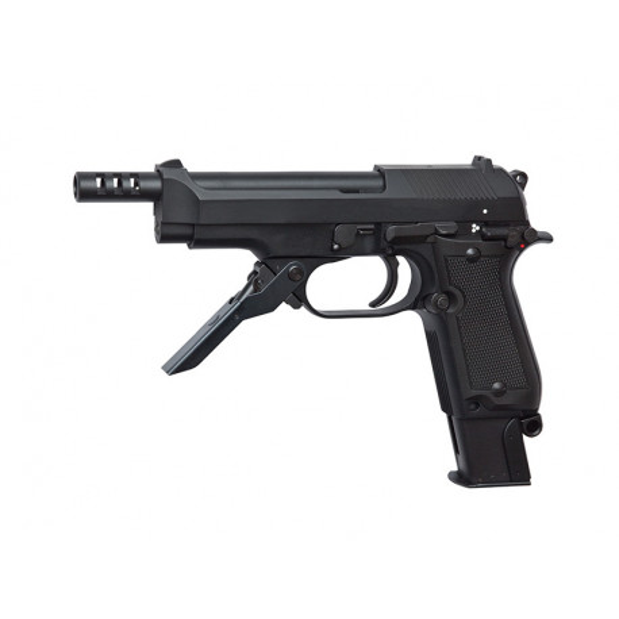 Airsoftpistol, GBB, M93R II - metal slide, blowback