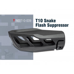 Action Army T10 Snake flash supressor