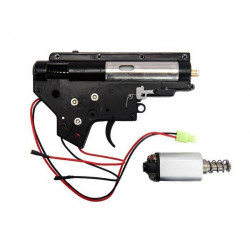 CYMA Complete Gearbox Set for M4 AEG (Rear Wiring)