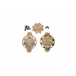 BlackHawk Quick Disconnect Kit - 2 Female and 1 Male - TAN