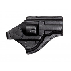 "Belt holster, Leather, for DW 715 2.5""- 4"" Revolver, black"