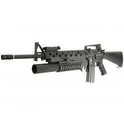 M16A3 w/M203 grenade launcher (EC-702), full metal - black