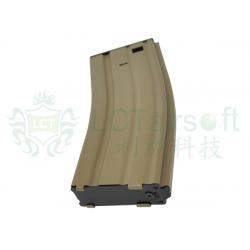 LCT M4 120rds Dual-Column Magazine (TAN)