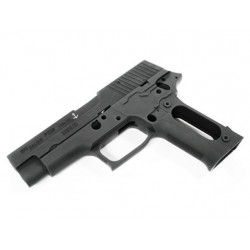 Aluminum Slide & Frame for MARUI P226 Navy (Black/Marking)