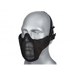 Wosport Steel Mesh Mask ( BLACK )