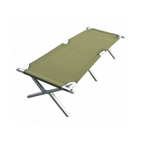 NATO deckchair folding frame with AL - GREEN, NEW