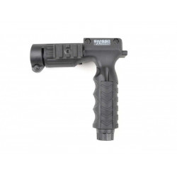 Vertical Grip For tactical light (25,4mm) + on/off button /C24-6