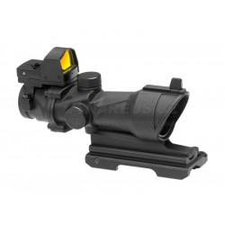 Scope ACOG 4x32 with Docter Red Dot