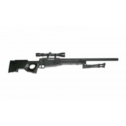 L96 Sniper + scope + bipod - black