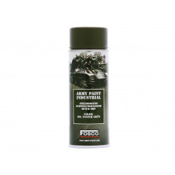 ARMY camouflage paint spray 400 ml WH PANZER GRÜN