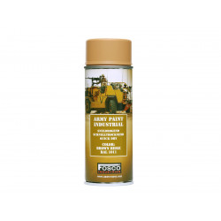 ARMY camouflage paint spray 400 ml RAL 1011 BROWN BEIGE