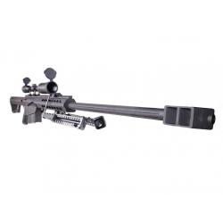 Barrett M82A1, dvojnožka, bez optiky