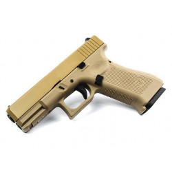 R19 XL (G003VXB-TAN) Gen5, kovový závěr, celopískový, blowback