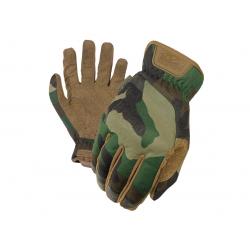 Taktické rukavice MECHANIX (Fastfit) - Woodland, S
