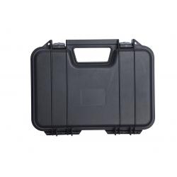 Plastový kufr na pistoli 7x19x31 cm - černý