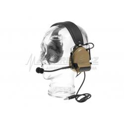 Taktický headset Comtac II (Z041) , Dark Earth