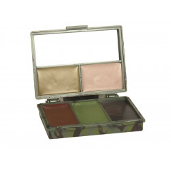 BOX camouflage colors 5 colors with mirror