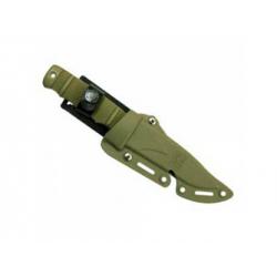 M37-K Rubber Training Knife w/ Hardshell Sheath (OD)