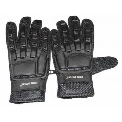 Armour leather gloves, medium