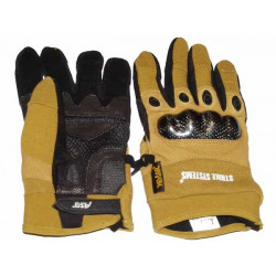 Tactical Assault gloves, Tan, Large