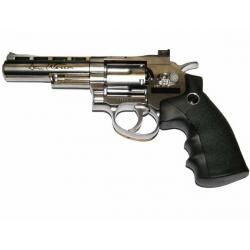 """WG revolver 4"""" CO2, stříbrný"""