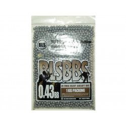 BLS High Precision Made - 0,43g 2300bb Pellets - GREY