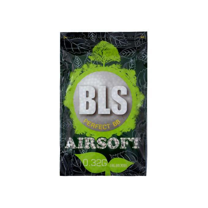 BLS kuličky BIO 0,32g 3125bb - bílé