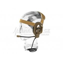 Z Tactical M-IV Headset ( Mil. Standard Plug / TAN )