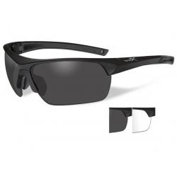 Brýle GUARD ADVANCED Smoke grey + clear lens/Matte black frame