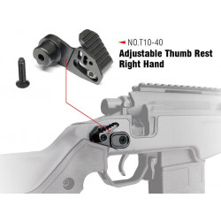 AAC T10 Thumb Stopper-Right Hand
