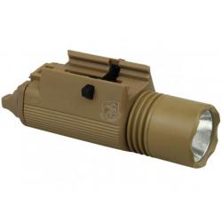 Taktická svítilna M3 LED, písková