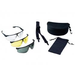 Maxim Ballistic střelecké ochranné brýle v sadě s výměnnými zorníky