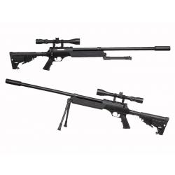 APS SR-2 LRV (MB13D) + bipod + scope + silencer