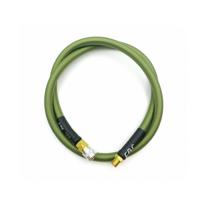 Hadice HPA Mk.II - QD samice + 1/8NPT - 100cm s opletem - oliva