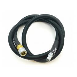 Hadice HPA 115cm s opletem - černá