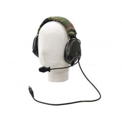 Z Tactical SRDN Headset ( Mil. Standard Plug )