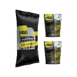Survival foodpack I - Hovězí guláš + Kuře po zahradnicku