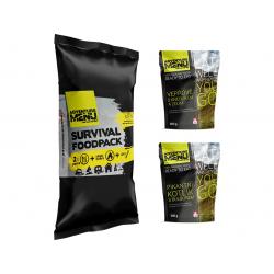 Survival foodpack II - Pikantní kotlík + Vepřové s knedlíkem
