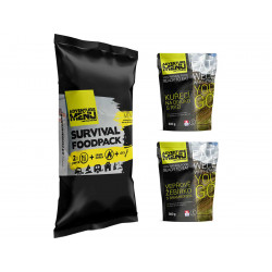 Survival foodpack III - Pork rib with potatoes + Wild style chicken