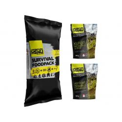 Survival foodpack III - Vepřové žebírko + Kuře na divoko