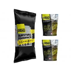 Survival foodpack IV - Jelení ragů + Kuře Korma