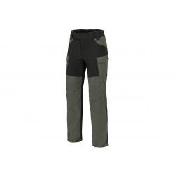 Kalhoty HYBRID OUTBACK® Taiga Green / černé A, S-Regular