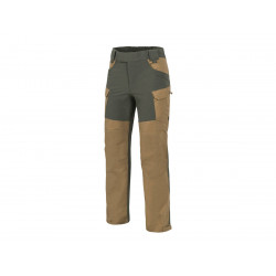 HYBRID OUTBACK PANTS® - Coyote / Taiga Green A, S-Regular
