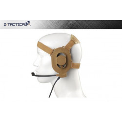 Z Tactical E-II Headset ( Mil. Standard Plug / Tan )