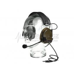 Taktický headset Comtac III , olivový