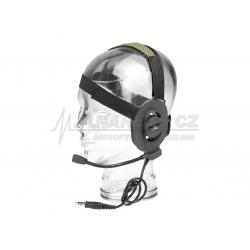 Taktický headset Elite II, černý