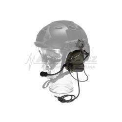 Taktický headset Comtac II na helmu FAST
