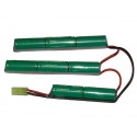Battery XCell 9,6V / 2200mAh, for GP M4 SO and SF and Crane Stock